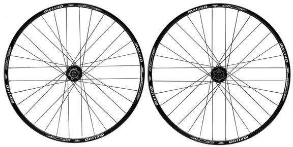"""Azonic Outlaw 27.5"""" (650b) Wheelset"""