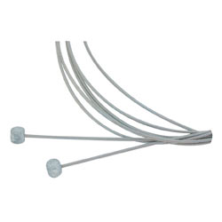 Aztec Stainless Brake Cable Set
