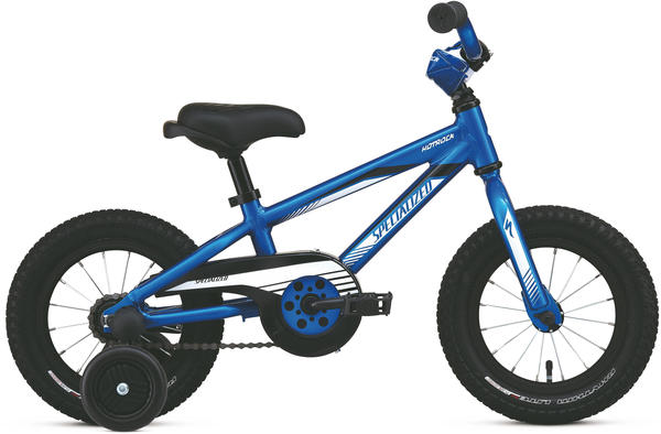 Specialized Boy's Hotrock 12 Coaster Color: Gloss Blue/White/Black