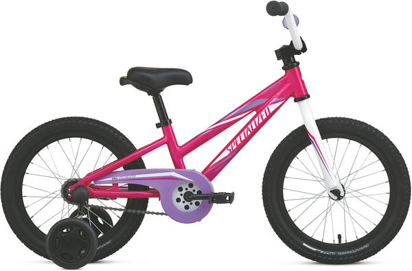 Specialized Girl's Hotrock 16 Coaster Color: Pink/Purple/White