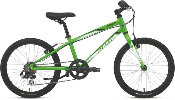 Specialized Boy's Hotrock 20 Street (6-Speed) Color: Green