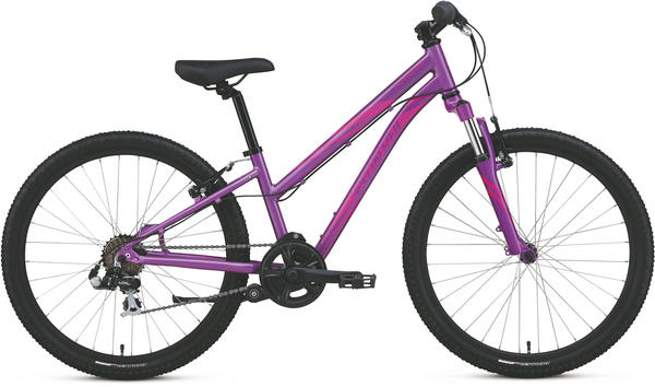 Specialized Girl's Hotrock 24 (7-Speed) Color: Gloss Purple/Pink