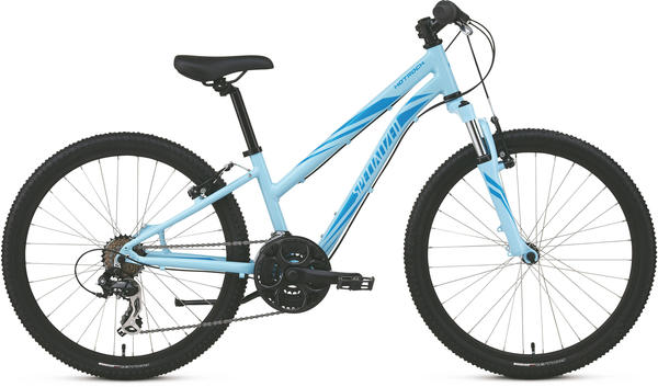 Specialized Girl's Hotrock 24 (21-Speed) Color: Blue/Blue