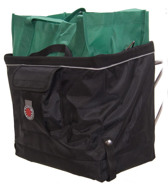 Banjo Brothers Grocery Bag Pannier Color: Black