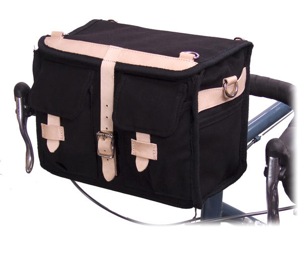 Banjo Brothers Minnehaha Canvas Handlebar Bag