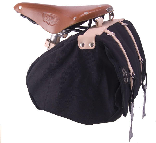 Banjo Brothers Minnehaha Canvas Saddle Bag (Medium)