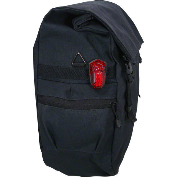 Banjo Brothers Minnehaha Series Canvas Waterproof Pannier Color: Black