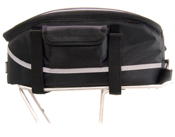 Banjo Brothers Rack Top Bag Color: Black