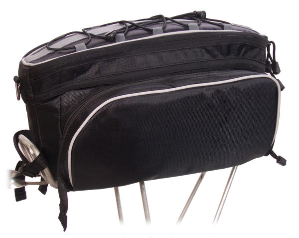 Banjo Brothers Rack Top Pannier Bag Color: Black