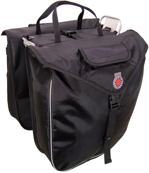 Banjo Brothers Saddlebag Panniers Color: Black