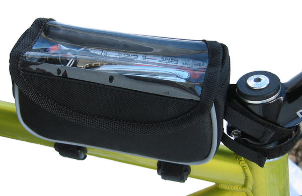 Banjo Brothers Top Tube Bag Color: Black