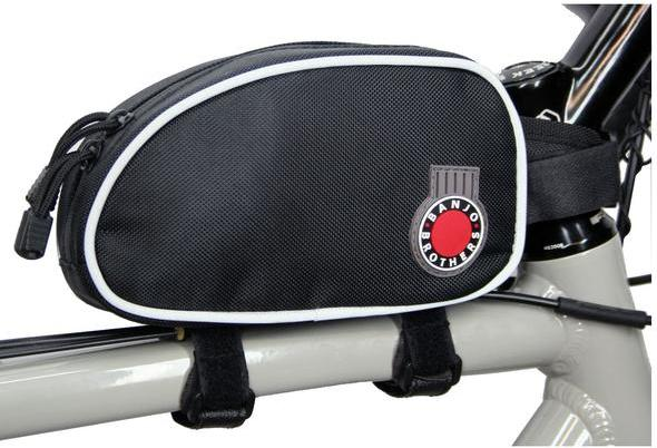Banjo Brothers Large Top Tube Bag Color: Black