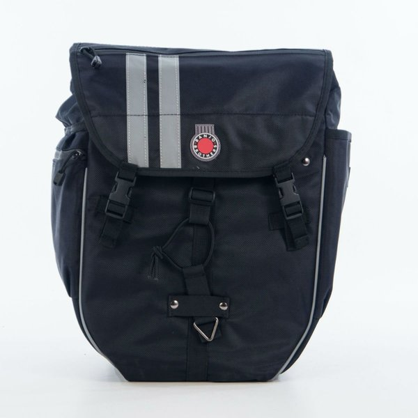 Banjo Brothers Waterproof Backpack Pannier Color: Black