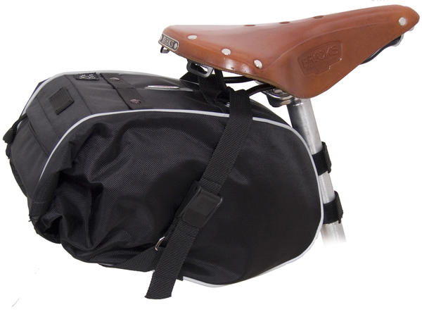 Banjo Brothers Large Waterproof Saddle Trunk Color: Black