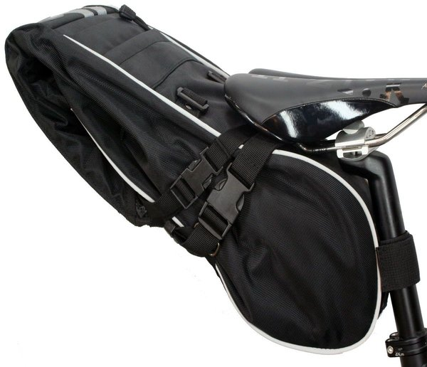 Banjo Brothers X-Large Waterproof Saddle Trunk Color: Black