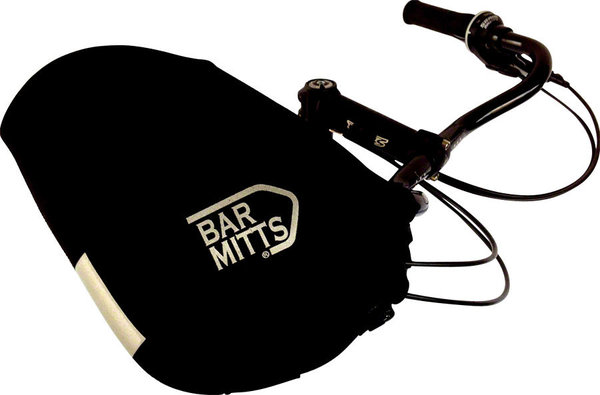 Bar Mitts Mustache Handlebar Pogies Color: Black
