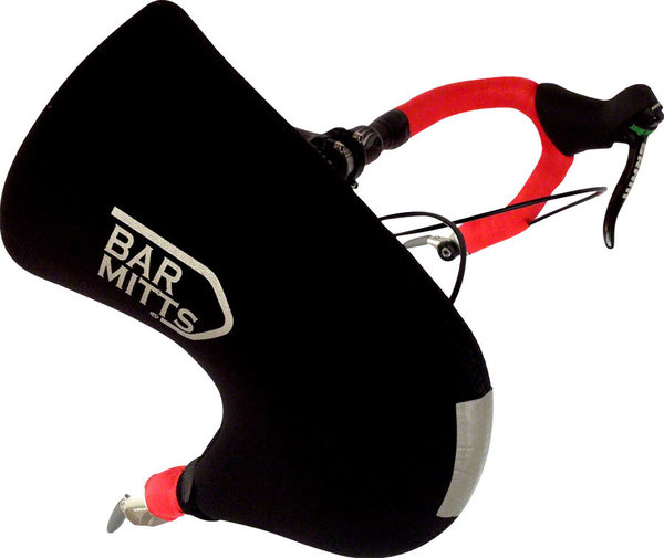 Bar Mitts Road Bar End Shifter Pogies Color: Black