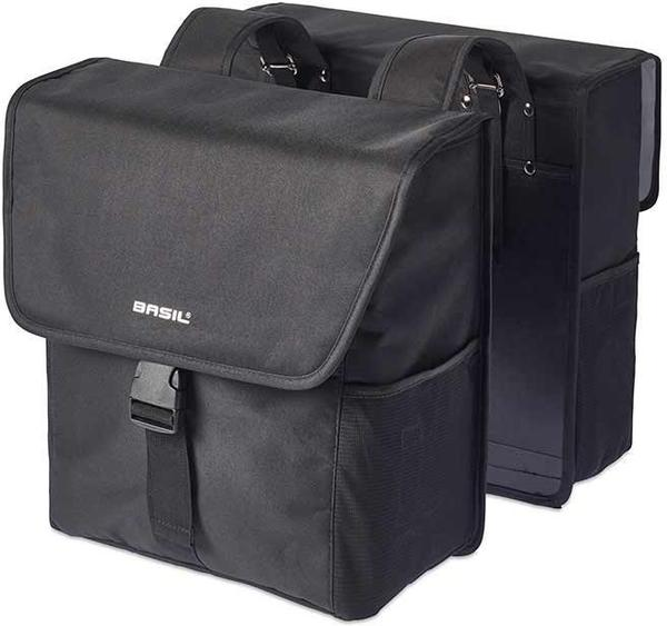 Basil Go Double Bag Color: Black