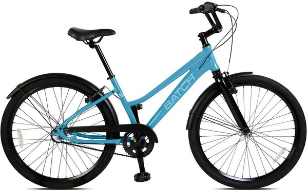 "Batch Bicycles The Comfort Bicycle Step-Through 26"" Color: Gloss Batch Blue"