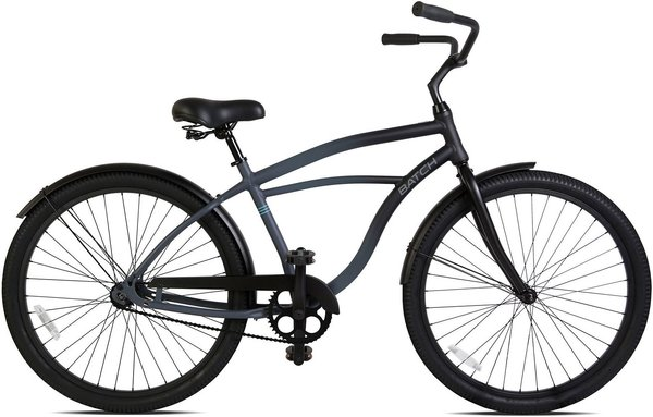 Batch Bicycles The Cruiser Bicycle Color: Matte Pitch Black