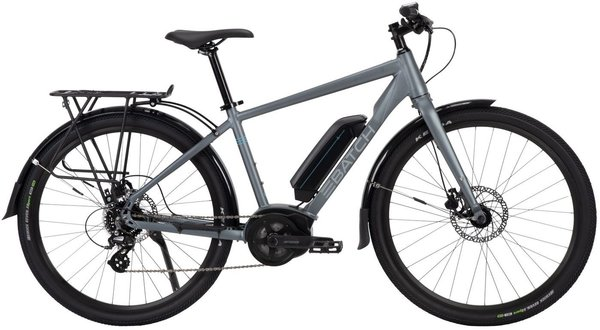 Batch Bikes The E-Commuter Color: Matte Metallic Charcoal