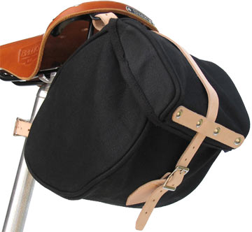 Banjo Brothers Minnehaha Canvas Saddle Bag (Small)