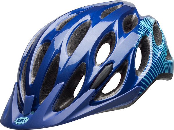 Bell Coast Joy Ride Color | Size: Gloss Navy/Sky Fibers | One Size Fits Most