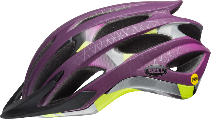 Bell Drifter MIPS Color: Matte/Gloss Plum Deco