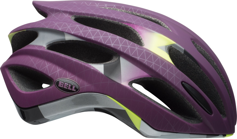Bell Formula MIPS Color: Matte/Gloss Plum Deco