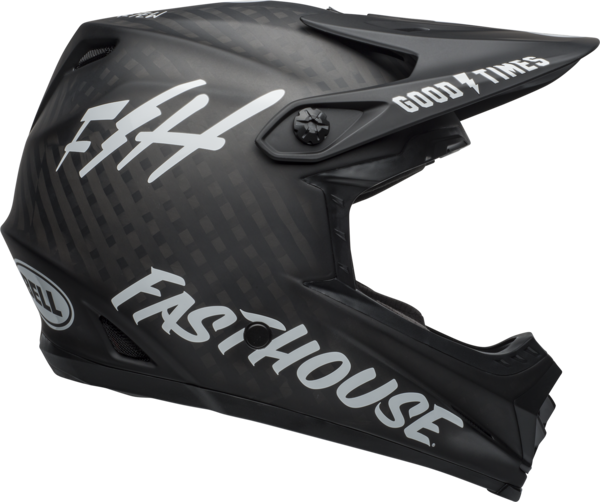 Bell Full-9 Color: Fasthouse Matte Black/White