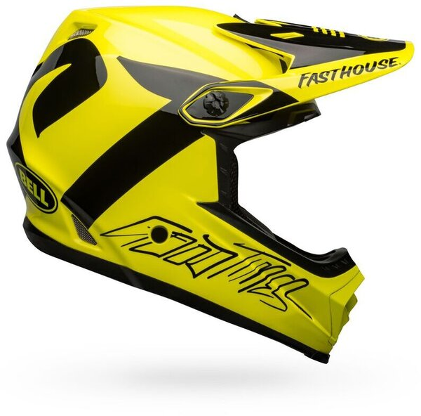Bell Full-9 Fusion Color: Fasthouse Newhall Gloss Hi-Viz/Black