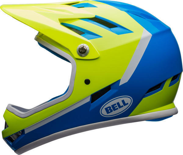 Bell Sanction Color: Force Blue/Retina Sear