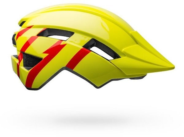 Bell Sidetrack II MIPS Childrens Color: Strike Gloss Hi-Viz/Red