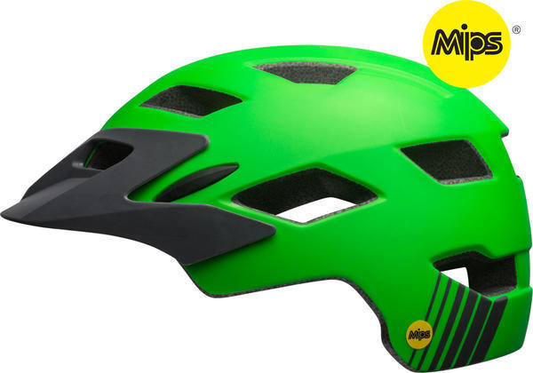Bell Sidetrack Youth MIPS Color: Matte Kryptonite/Titanium