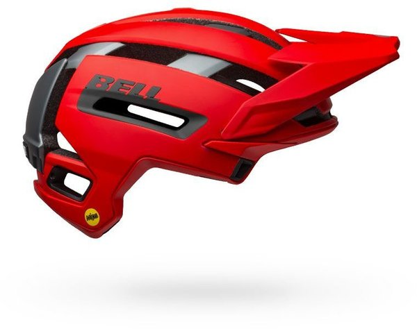 Bell Super Air MIPS Color: Matte/Gloss Red/Gray