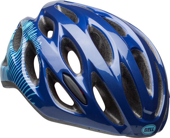 Bell Tempo Joy Ride Color: Gloss Navy/Sky Fibers