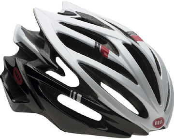 Bell Volt RL Color: White/Black/Red Hero