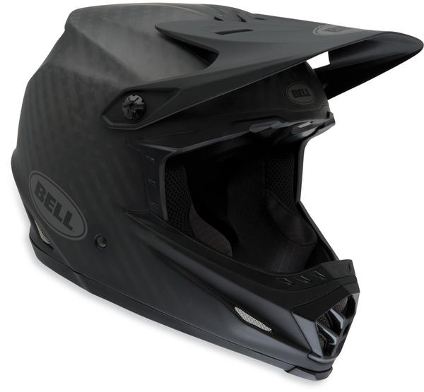 Bell Full-9 Color: Matte Black Carbon