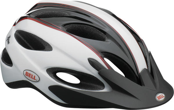 Bell Piston Mega Descuento!! Color: White/Black/Red Rally