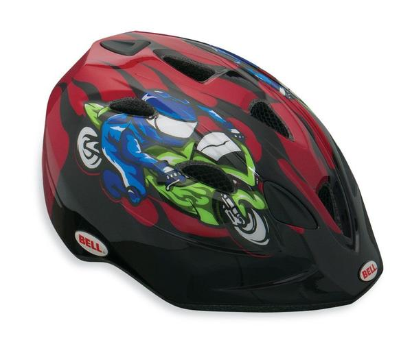 Bell Tater Color: Red Moto GP Flames