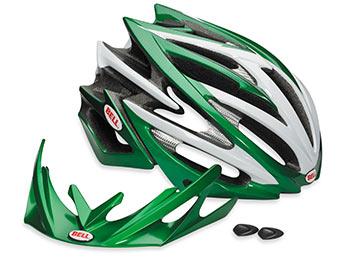 Bell Volt Color: Limited Edition Credit Agricole Green/White