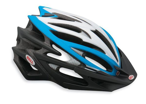 Bell Volt Color: Matte Blue/Black