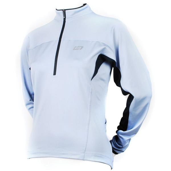 Bellwether Women's Tempo Long Sleeve Jersey Color: Steel Blue