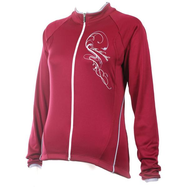 Bellwether Women's Trinity Long Sleeve Jersey Color: Ruby