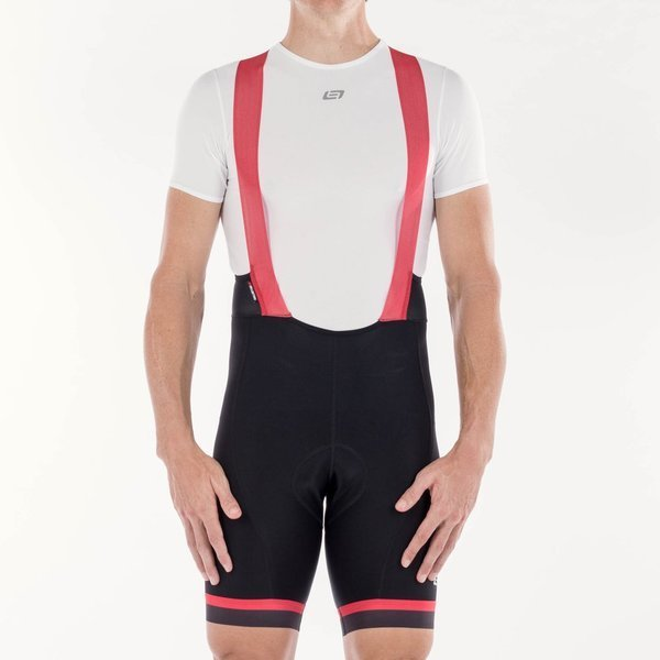 Bellwether Aires Bib Shorts Color: Ferrari