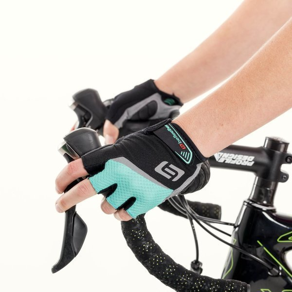 Bellwether Ergo Gel Gloves Color: Aqua