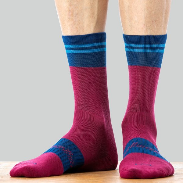 Bellwether Flight Sock Color: Burgundy