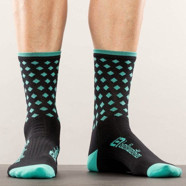 Bellwether Pinnacle Socks Color: Aqua
