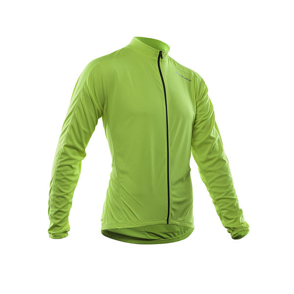 Bellwether Sunscreen UV Long Sleeve Jersey Color: High Visablity Green