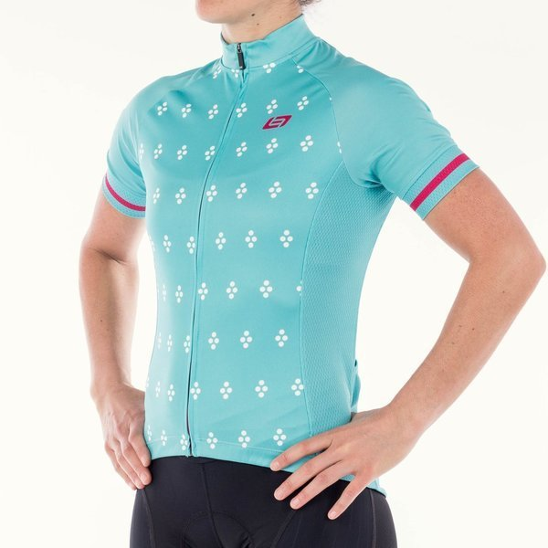 Bellwether Women's Essence Jersey Color: Aqua